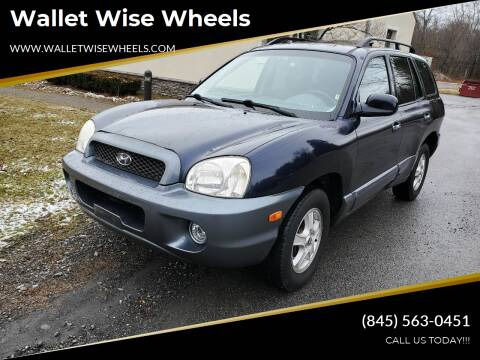 2005 Hyundai Santa Fe for sale at Wallet Wise Wheels in Montgomery NY