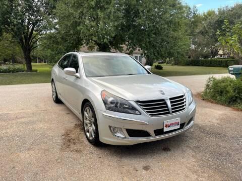 2011 Hyundai Equus for sale at CARWIN MOTORS in Katy TX