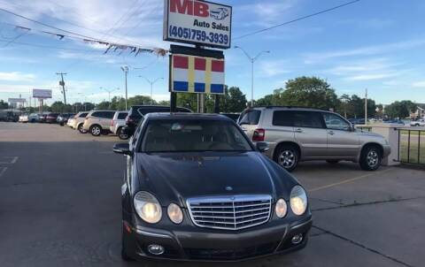 2009 Mercedes-Benz E-Class for sale at MB Auto Sales in Oklahoma City OK
