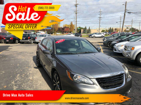 2011 Chrysler 200 for sale at Drive Max Auto Sales in Warren MI