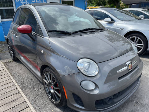 2013 FIAT 500c for sale at The Peoples Car Company in Jacksonville FL