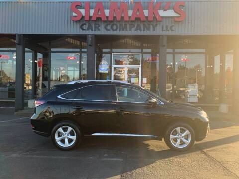 2014 Lexus RX 350 for sale at Siamak's Car Company llc in Salem OR