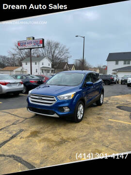 2019 Ford Escape for sale at Dream Auto Sales in South Milwaukee WI