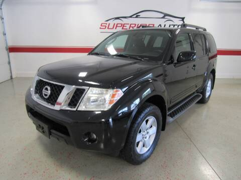 2011 Nissan Pathfinder for sale at Superior Auto Sales in New Windsor NY