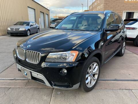 2011 BMW X3 for sale at CONTRACT AUTOMOTIVE in Las Vegas NV