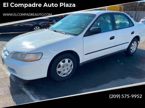 2000 Honda Accord for sale at El Compadre Auto Plaza in Modesto CA