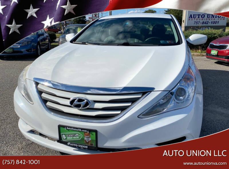 2014 Hyundai Sonata for sale at Auto Union LLC in Virginia Beach VA