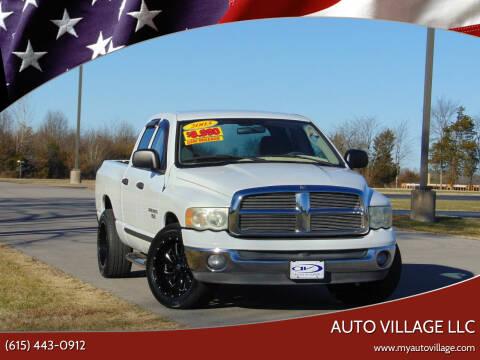 2003 Dodge Ram Pickup 1500 for sale at AUTO VILLAGE LLC in Lebanon TN