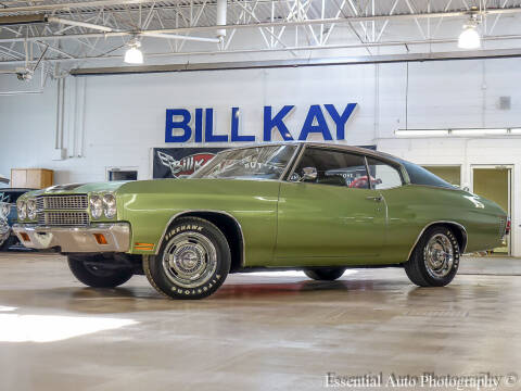 1970 Chevrolet Chevelle for sale at Bill Kay Corvette's and Classic's in Downers Grove IL