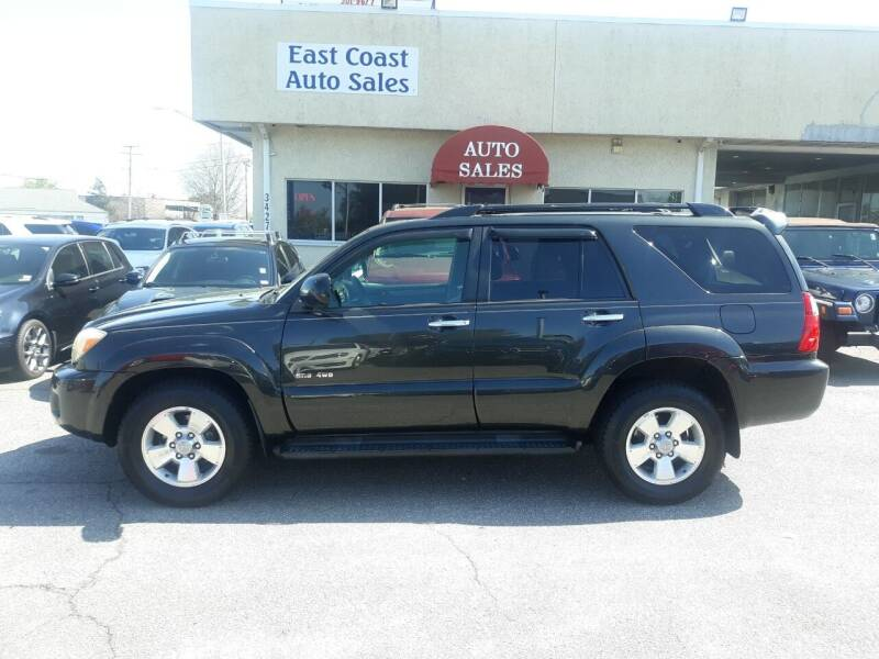 2008 Toyota 4Runner for sale at East Coast Auto Sales llc in Virginia Beach VA