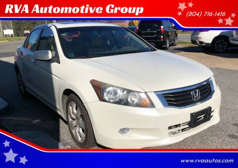 2010 Honda Accord for sale at RVA Automotive Group in North Chesterfield VA