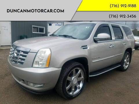 2007 Cadillac Escalade for sale at DuncanMotorcar.com in Buffalo NY