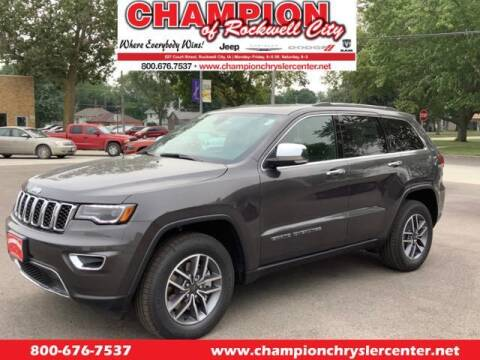 2021 Jeep Grand Cherokee for sale at CHAMPION CHRYSLER CENTER in Rockwell City IA