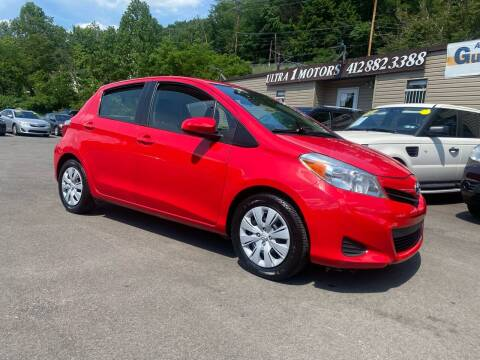 2013 Toyota Yaris for sale at Ultra 1 Motors in Pittsburgh PA