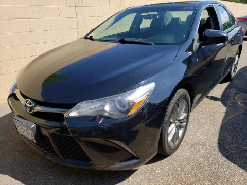 2016 Toyota Camry for sale at Capital Fleet  & Remarketing  Auto Finance in Columbia Heights MN