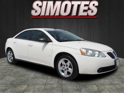 2008 Pontiac G6 for sale at SIMOTES MOTORS in Minooka IL