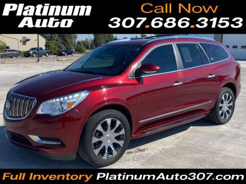 2017 Buick Enclave for sale at Platinum Auto in Gillette WY