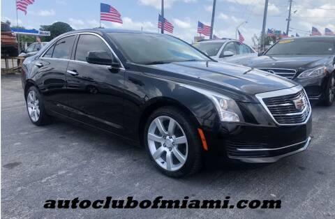 2016 Cadillac ATS for sale at AUTO CLUB OF MIAMI in Miami FL