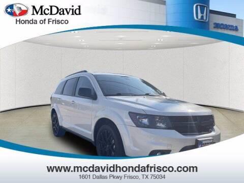 2018 Dodge Journey for sale at DAVID McDAVID HONDA OF IRVING in Irving TX
