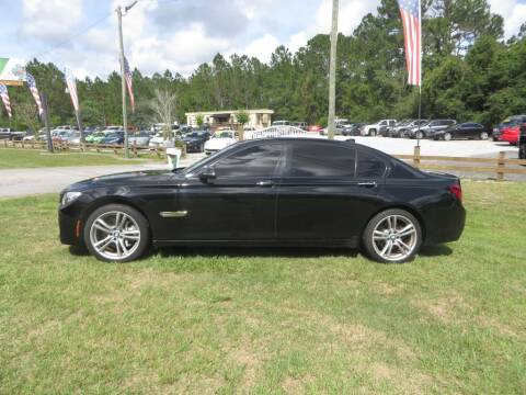 2013 BMW 7 Series for sale at Ward's Motorsports in Pensacola FL