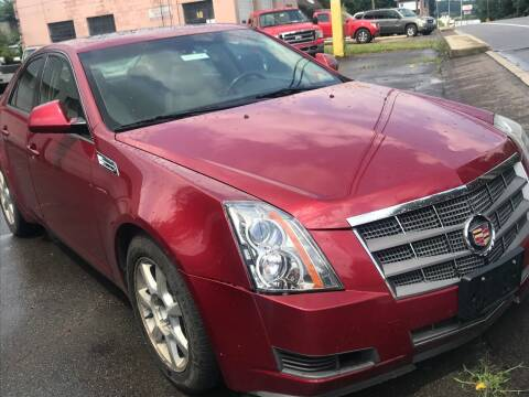 2008 Cadillac CTS for sale at Alpha Motors in Scranton PA