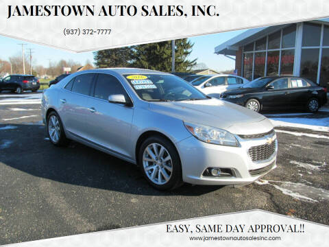 2016 Chevrolet Malibu Limited for sale at Jamestown Auto Sales, Inc. in Xenia OH