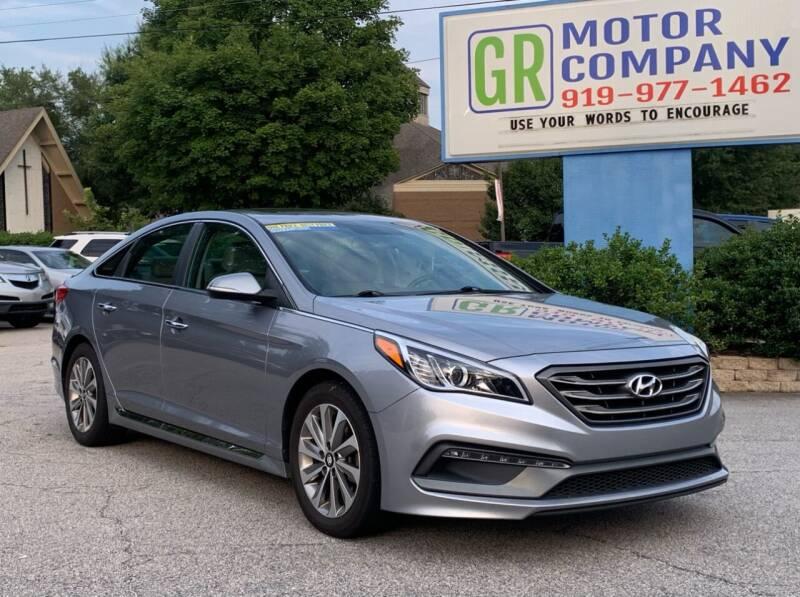 2016 Hyundai Sonata for sale at GR Motor Company in Garner NC