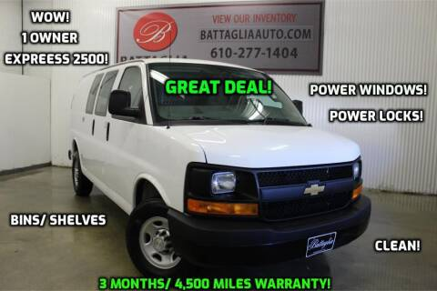 2017 Chevrolet Express Cargo for sale at Battaglia Auto Sales in Plymouth Meeting PA
