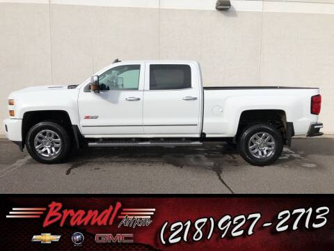 2019 Chevrolet Silverado 3500HD for sale at Brandl GM in Aitkin MN