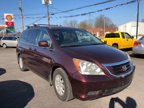 2010 Honda Odyssey for sale at Wise Investments Auto Sales in Sellersburg IN