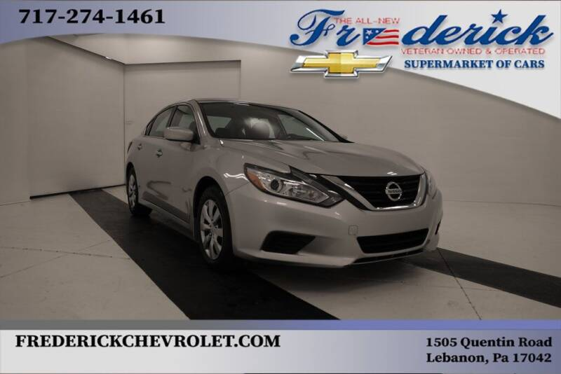 2017 Nissan Altima for sale at Lancaster Pre-Owned in Lancaster PA