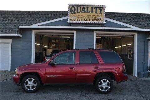 2004 Chevrolet TrailBlazer for sale at Quality Pre-Owned Automotive in Cuba MO