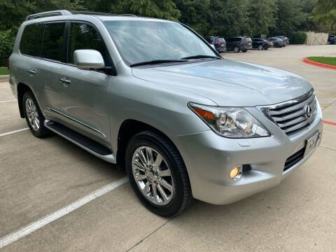 2008 Lexus LX 570 for sale at Texas Select Autos LLC in Mckinney TX