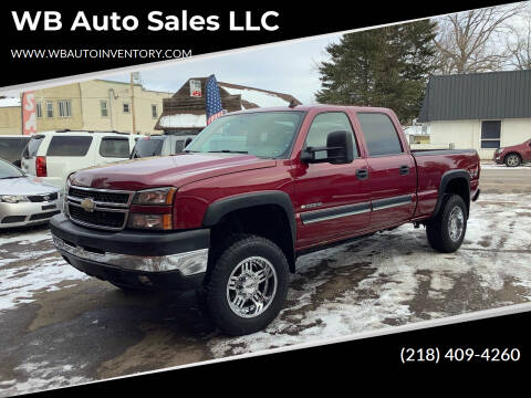 2006 Chevrolet Silverado 2500HD for sale at WB Auto Sales LLC in Barnum MN