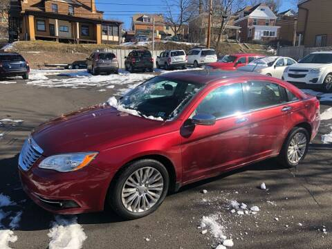2012 Chrysler 200 for sale at Fellini Auto Sales & Service LLC in Pittsburgh PA