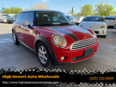 2008 MINI Cooper for sale at High Desert Auto Wholesale in Albuquerque NM