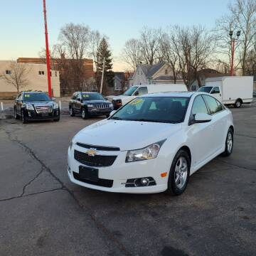 2013 Chevrolet Cruze for sale at Bibian Brothers Auto Sales & Service in Joliet IL