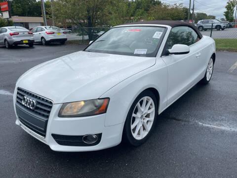 2010 Audi A5 for sale at Diana Rico LLC in Dalton GA