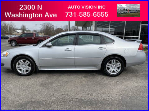 2011 Chevrolet Impala for sale at Auto Vision Inc. in Brownsville TN