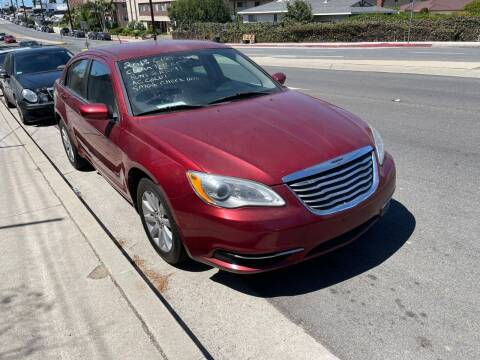 2013 Chrysler 200 for sale at E and M Auto Sales in Bloomington CA