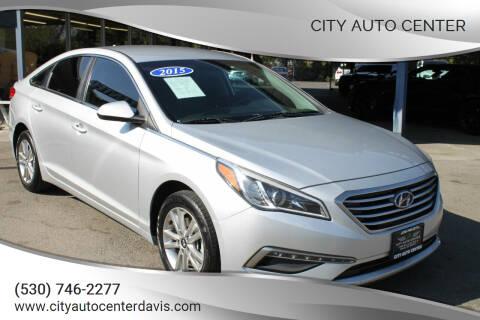 2015 Hyundai Sonata for sale at City Auto Center in Davis CA