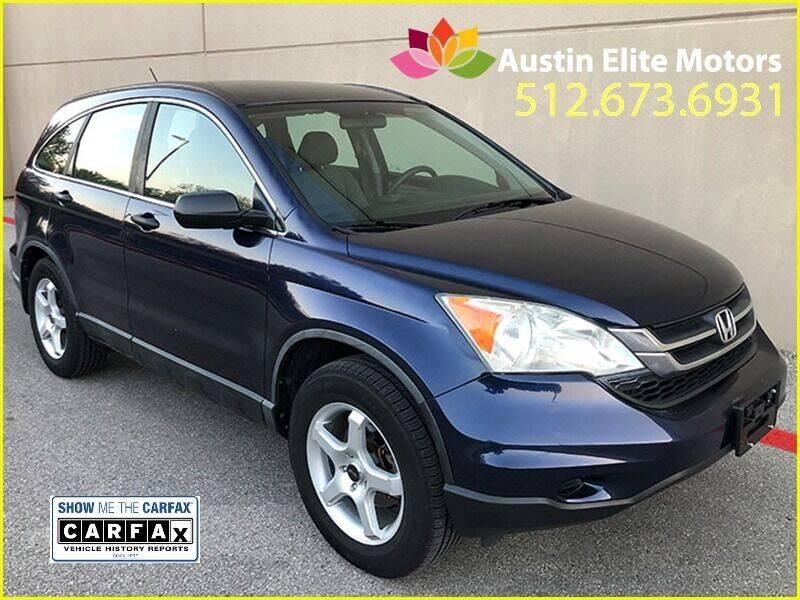 2010 Honda CR-V for sale at Austin Elite Motors in Austin TX