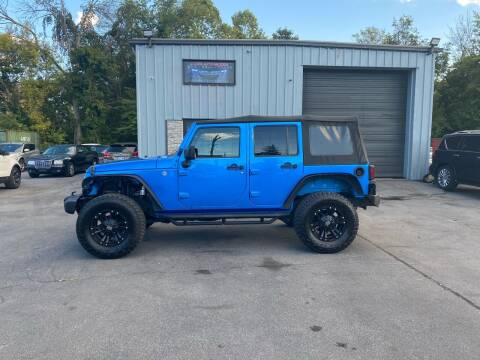 2016 Jeep Wrangler Unlimited for sale at Access Auto Brokers in Hagerstown MD