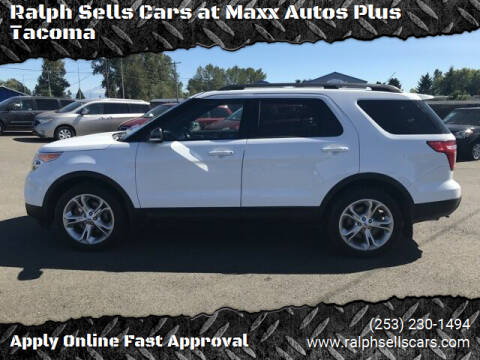 2015 Ford Explorer for sale at Ralph Sells Cars at Maxx Autos Plus Tacoma in Tacoma WA