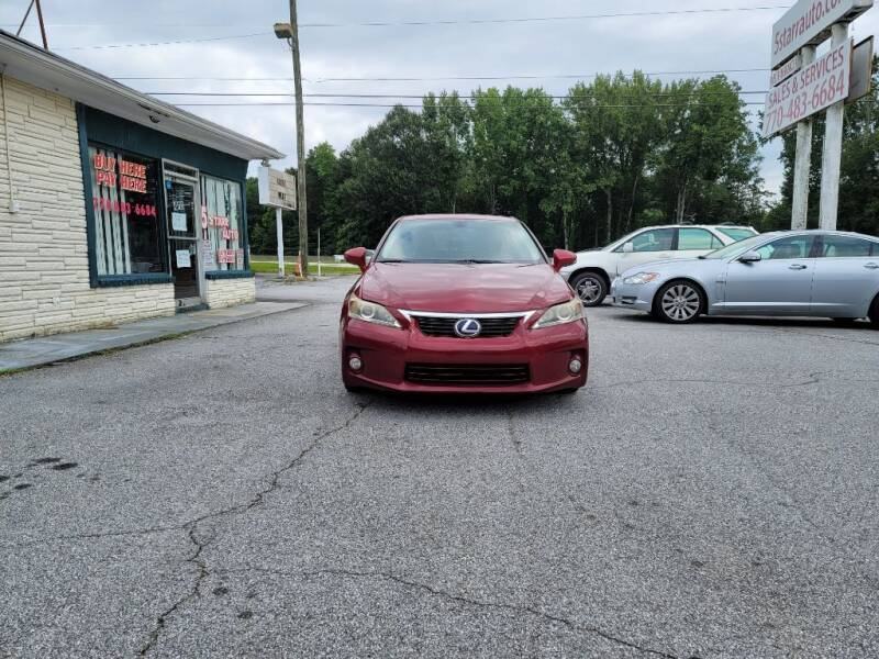 2011 Lexus CT 200h for sale at 5 Starr Auto in Conyers GA