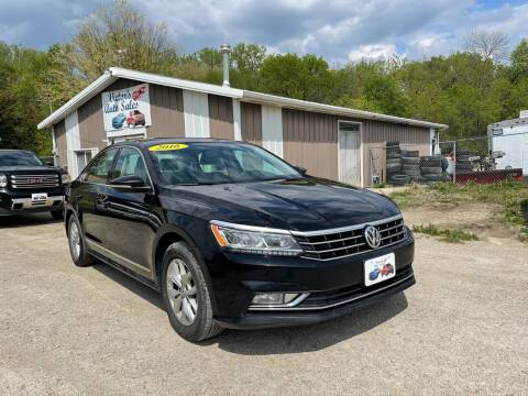 2016 Volkswagen Passat for sale at Victor's Auto Sales Inc. in Indianola IA