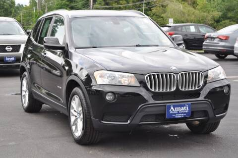 2013 BMW X3 for sale at Amati Auto Group in Hooksett NH