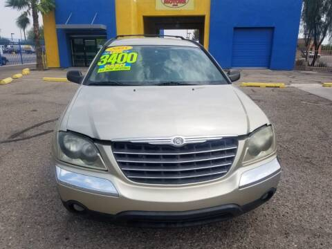 2005 Chrysler Pacifica for sale at CAMEL MOTORS in Tucson AZ