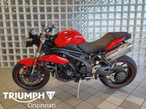 2012 Triumph Speed Triple for sale at TRIUMPH CINCINNATI in Cincinnati OH