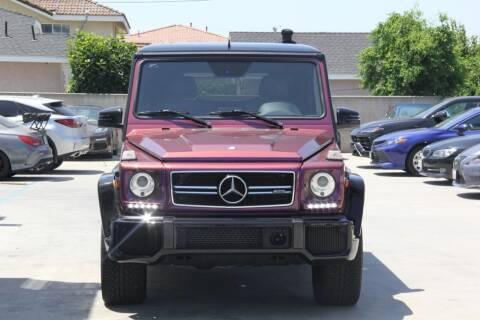 2015 Mercedes-Benz G-Class for sale at Fastrack Auto Inc in Rosemead CA
